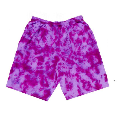 "Jeffersons Custom Tonal Tie Dyed Shorts w/ Pockets ""PURPLE HAZE"""