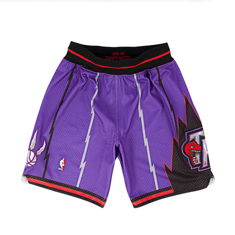1998-99 Authentic Shorts Toronto Raptors