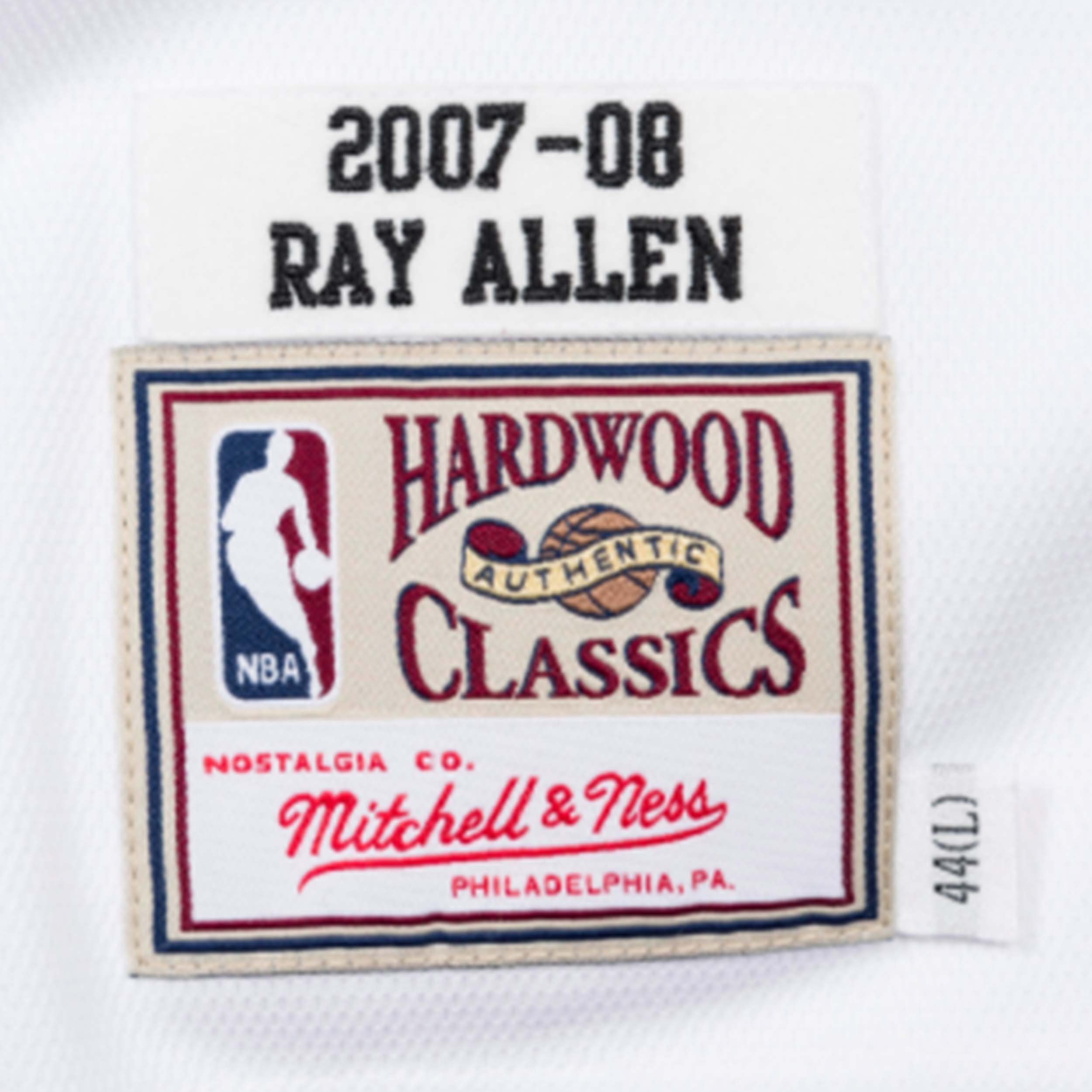 official photos aa9f6 74953 Mitchell & Ness Ray Allen 2007-08 Authentic Finals Jersey ...