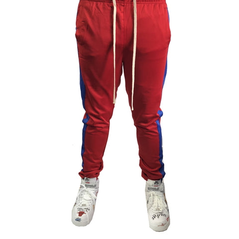 Red / Blue Stripe Trackpants