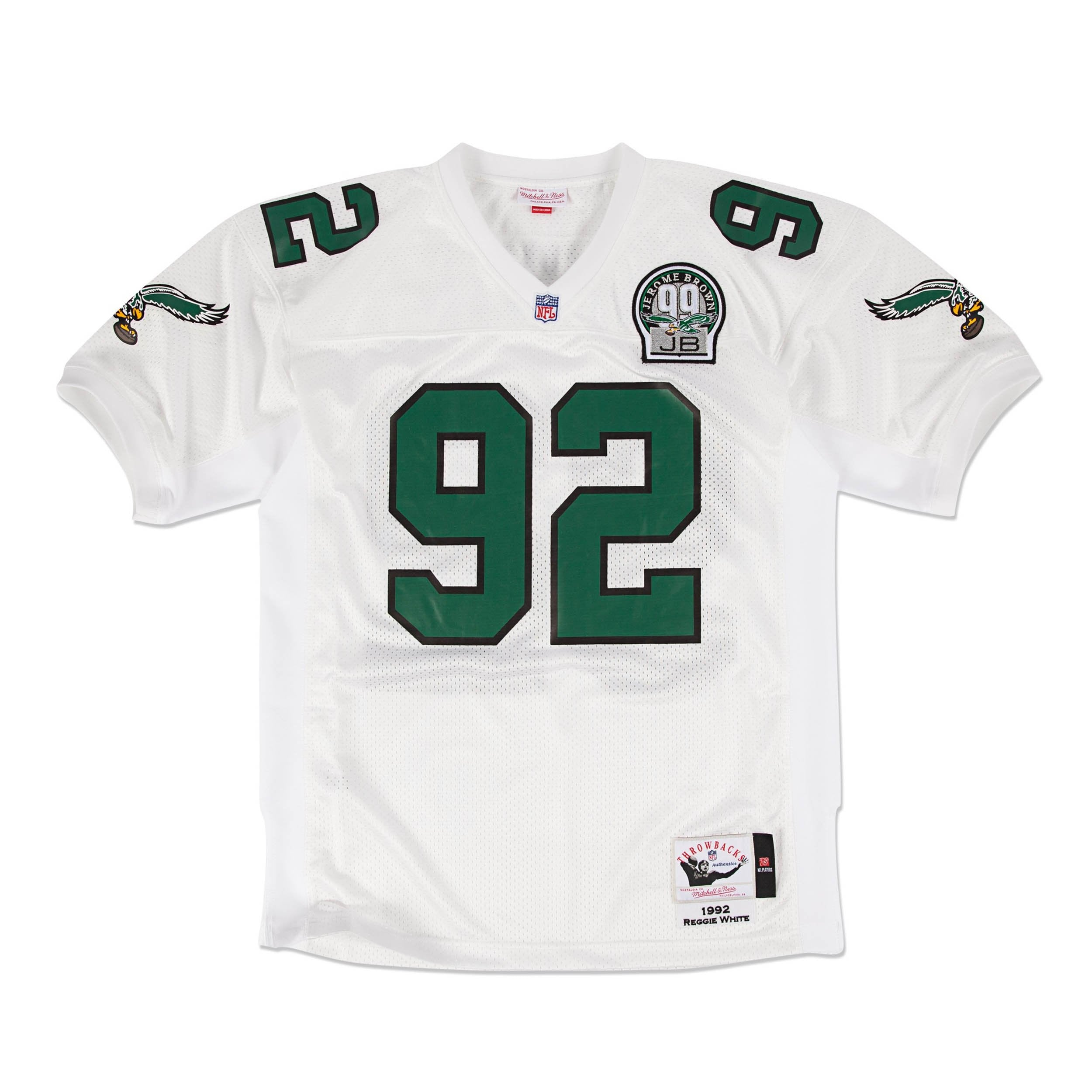747e383c4ac ... Mitchell Ness Reggie White 1992 Authentic Jersey Philadelph Mens Nike Philadelphia  Eagles ...