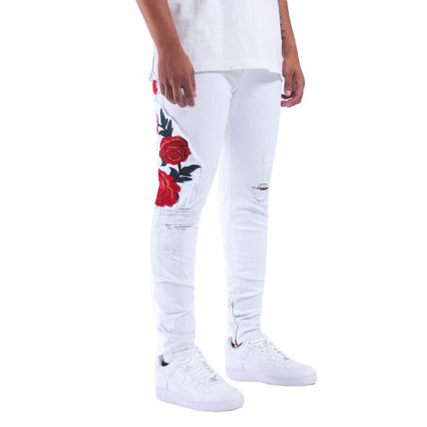 THE UNION DENIMS IN OPTIC WHITE