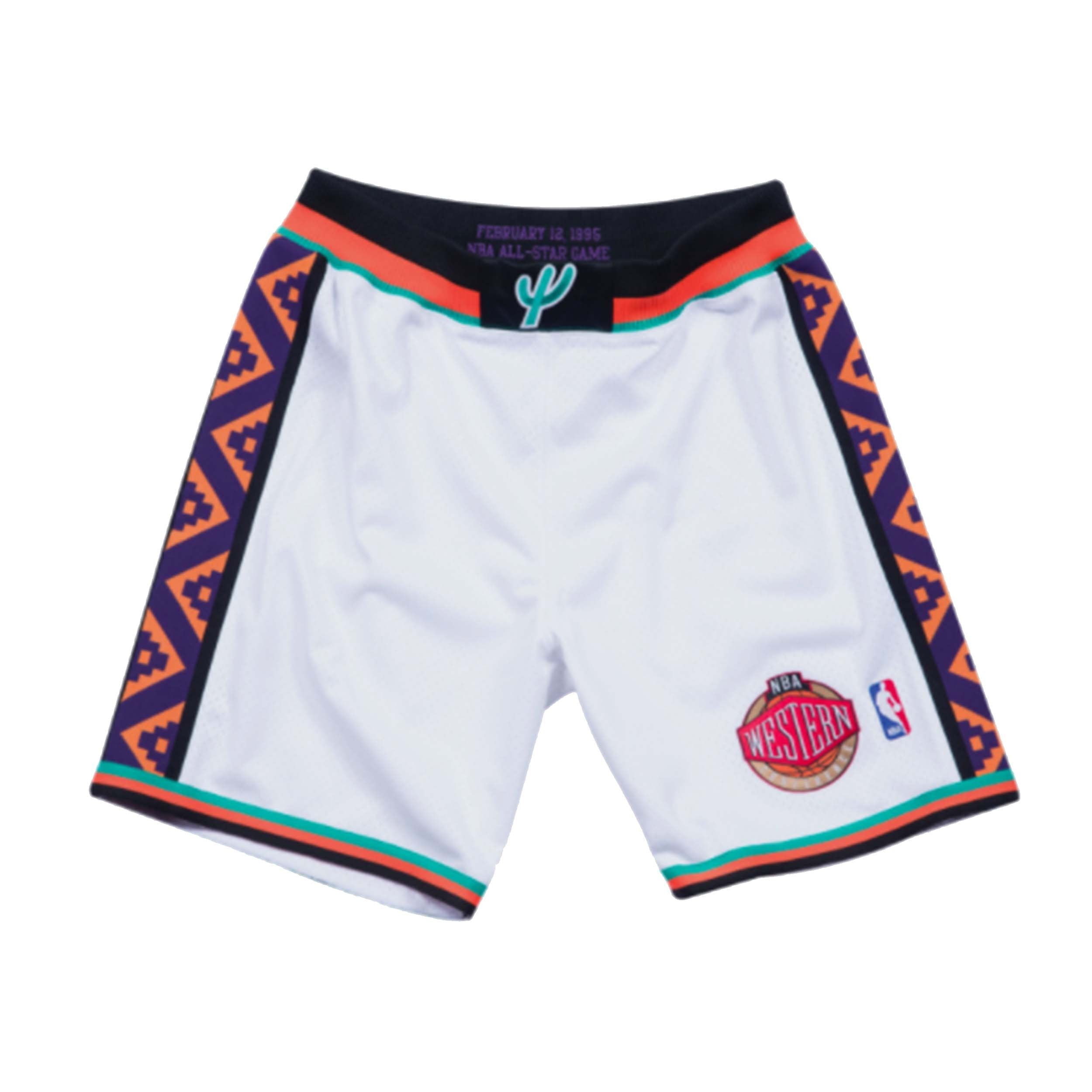26d5ae6ff Mitchell & Ness 1995 All Star West Authentic Shorts