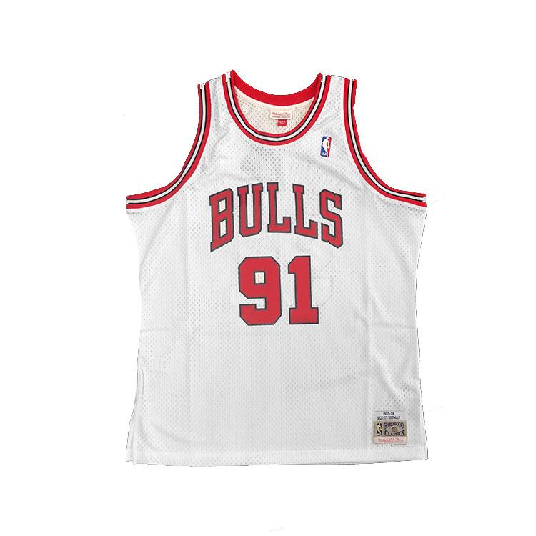 Mitchell & Ness Chicago Bulls Dennis Rodman 1997-98 NBA Swingman Jersey