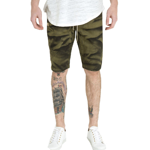 Embellish NYC Silhouette Shorts In Olive