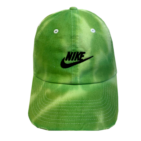 "Nike ""SLIME"" Custom Tonal Washed Dad Cap"