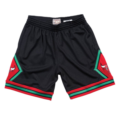 Mitchell & Ness Christmas Swingman Shorts Chicago Bulls 1997-98