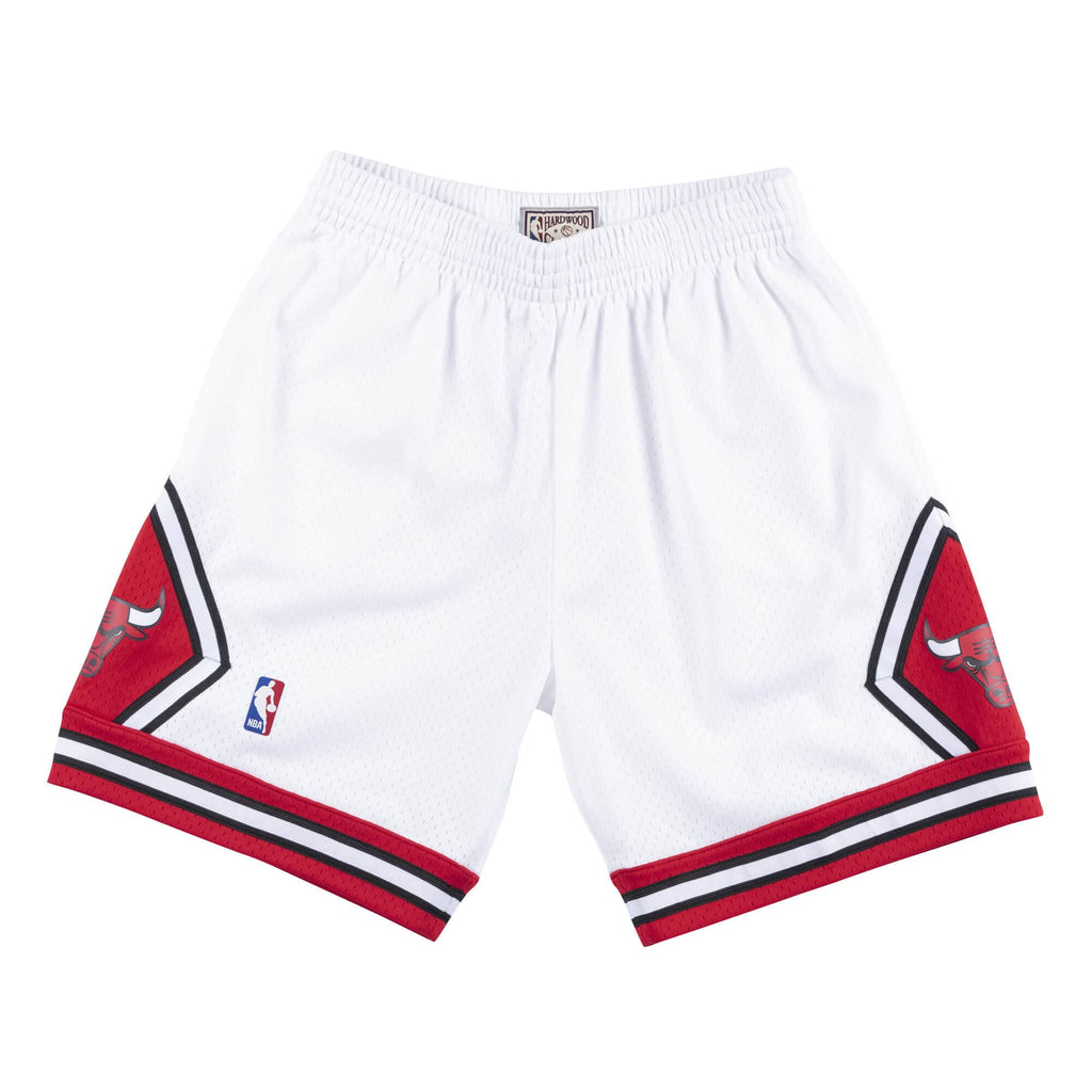 Mitchell & Ness Swingman Shorts Chicago Bulls 1997-98 in White