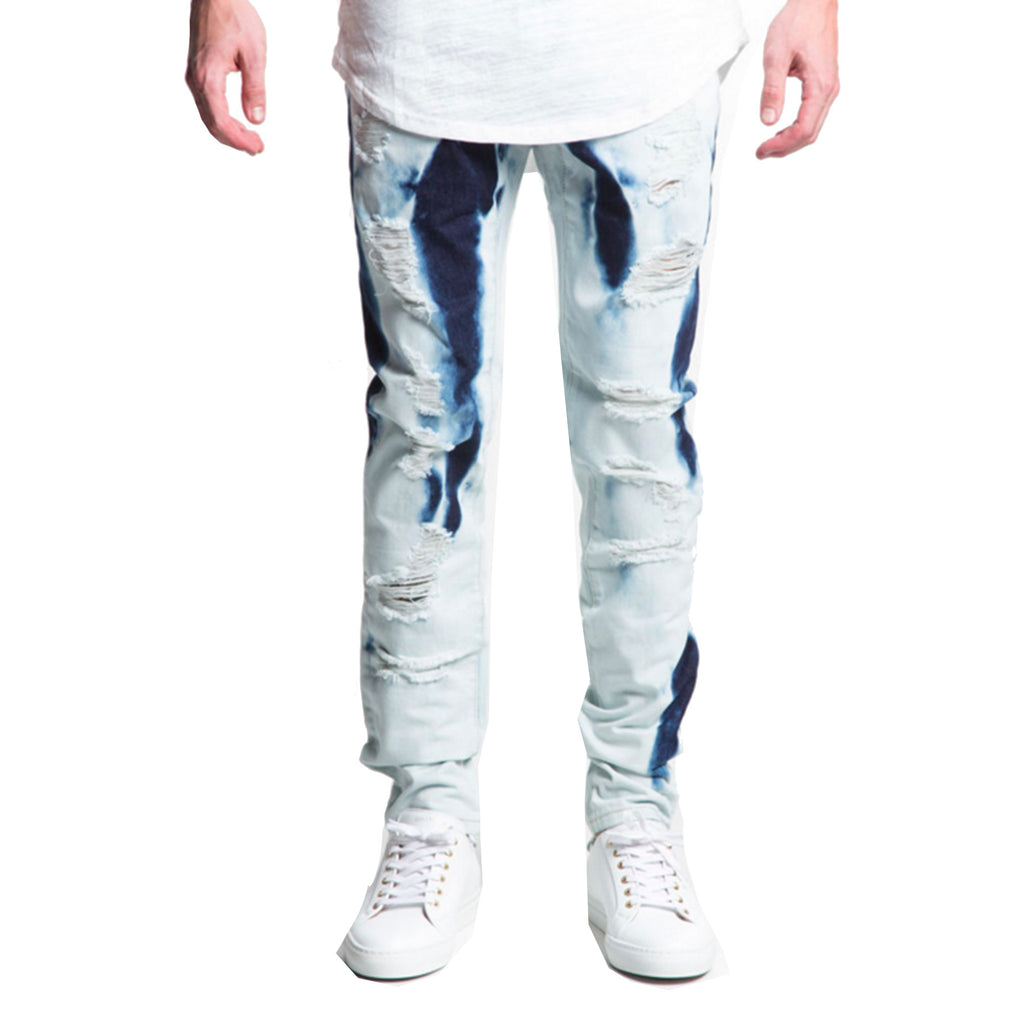 Stockon Denim Washed Jeans in Blue