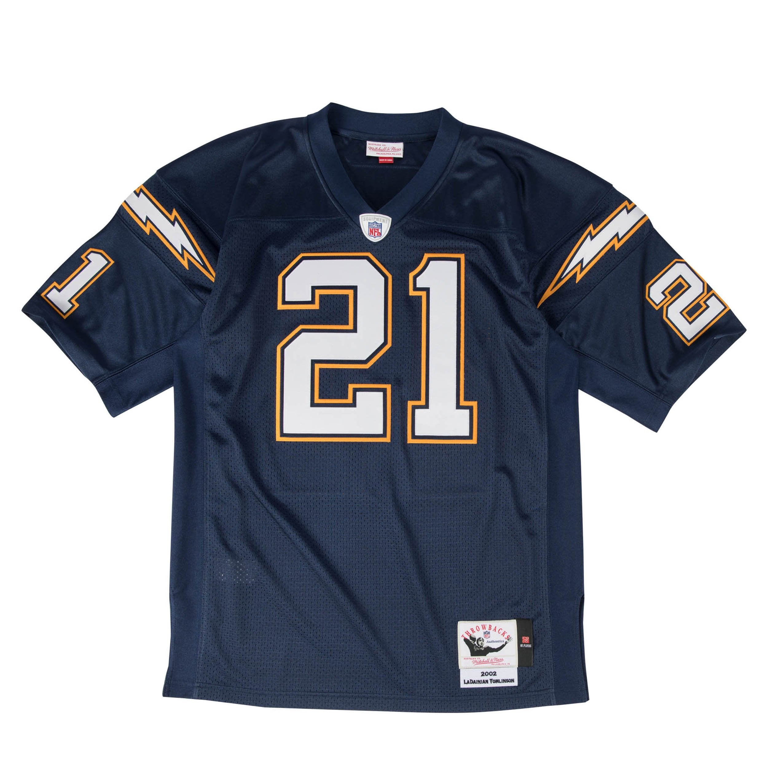 separation shoes ab2eb beba7 Mitchell & Ness LaDainian Tomlinson Authentic Jersey 2002 San Diego Chargers