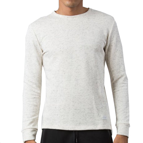 Kings Apparel Thread Sweatshirt In Cream
