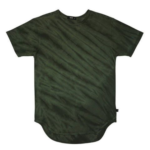 Tiger Camo Original Extended Long Tee Olive
