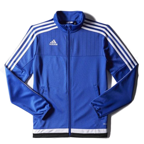 Adidas Mens Tiro 15 Training Jacket in Royal White