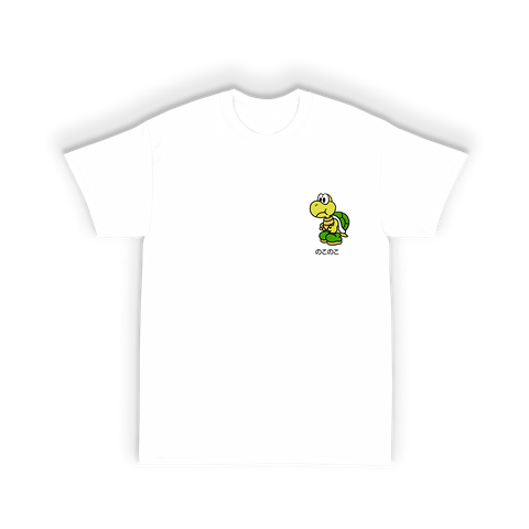 Turtle Tee Shirt in White