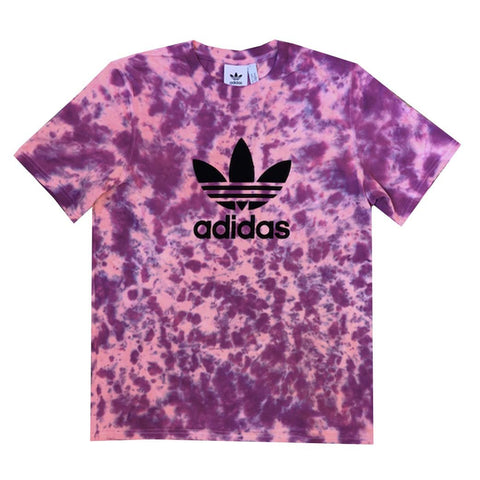 "Adidas x Jeffersons Custom ""Twilight"" Tie Dyed T-Shirts"