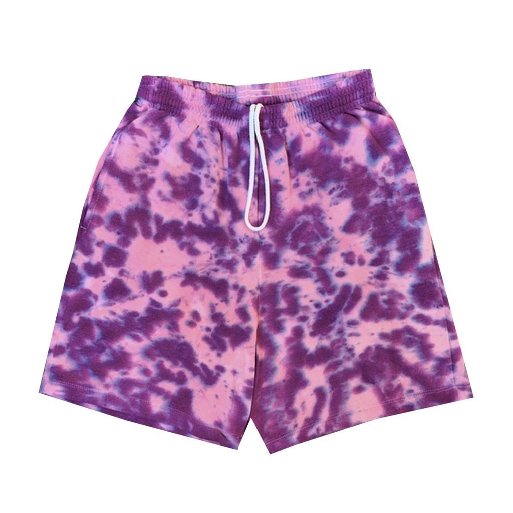 "Jeffersons ""Twilight"" Tie Dyed Sweatshorts w/ Pockets"
