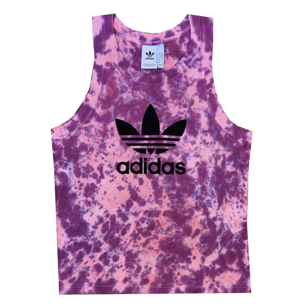 "Adidas x Jeffersons Custom ""Twilight"" Tie Dyed Tank Top"