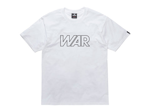 Undefeated War Tee In White