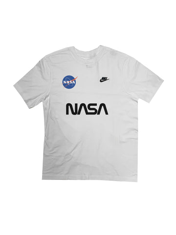 "Fall19 Nike ""NASA"" Custom Tees in White"
