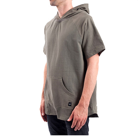 Akomplice West SS Hoodie In Military Green