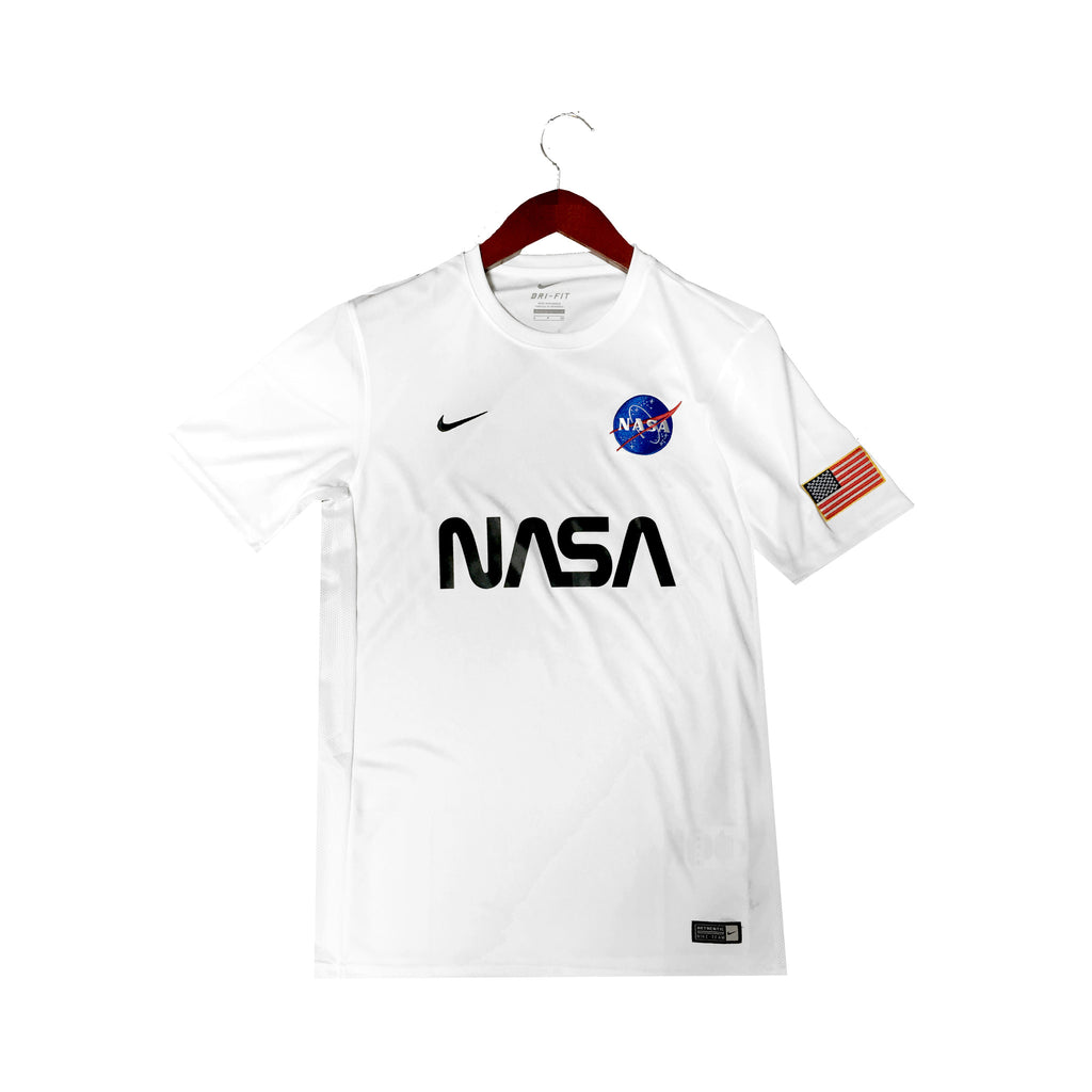 Nike X NASA Custom Soccer Jerseys in White