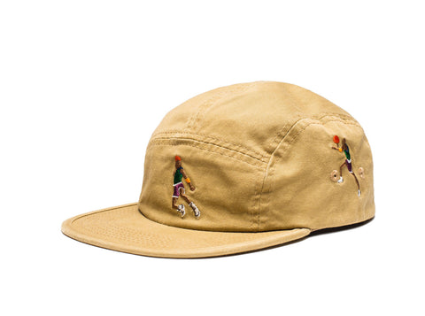 Undefeated Wings Camp Cap in Khaki