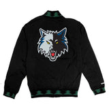 Exclusive Mitchell & Ness Minnesota Timberwolves 1997-98 Authentic Warm Up Jackets