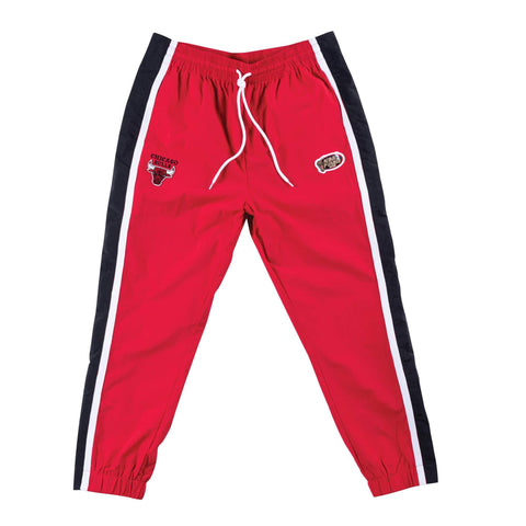 Mitchell & Ness Tear Away Pants Chicago Bulls