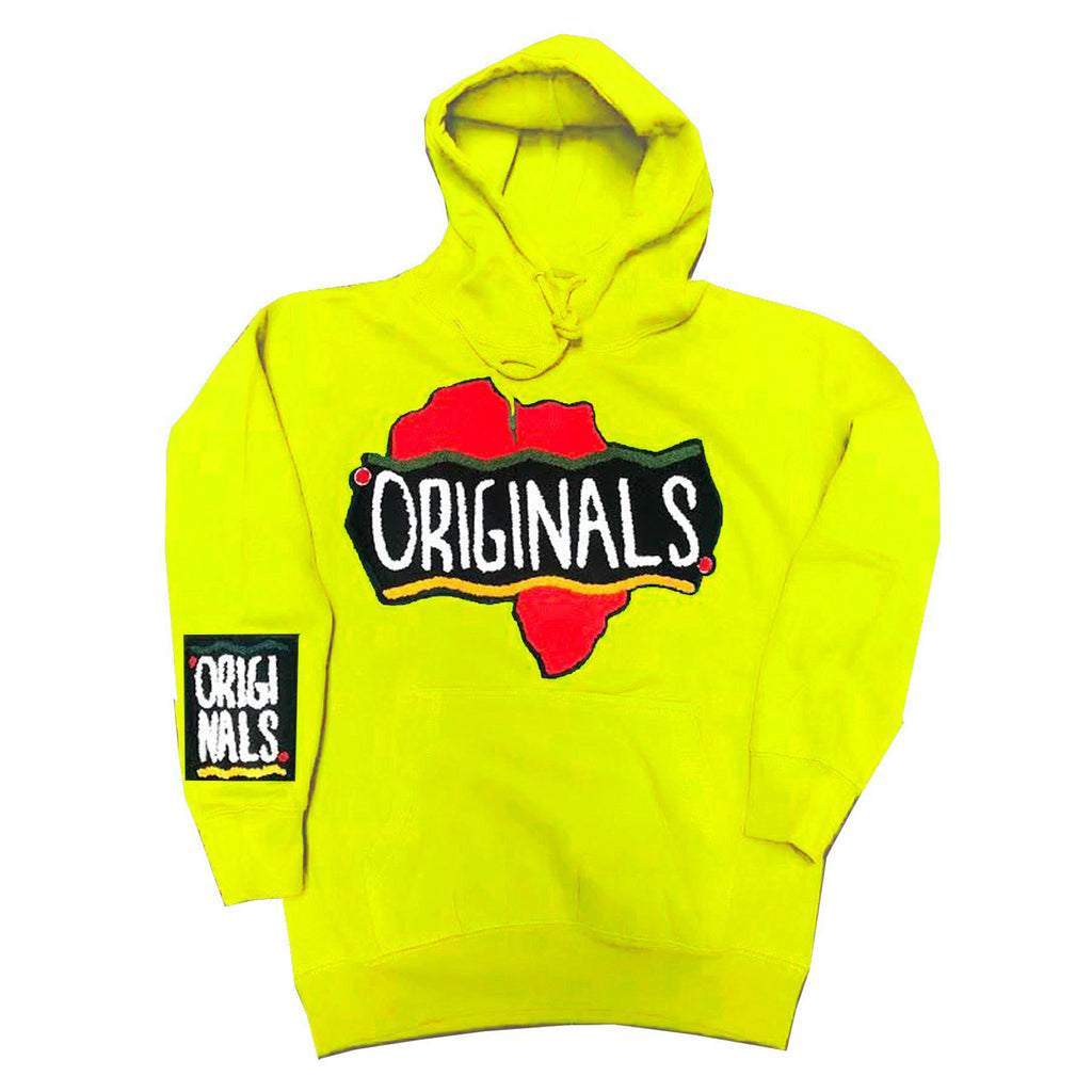 Originals Motherland Hoodie in Yellow