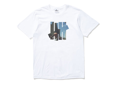 Undefeated Youth 5 Strike Tee In White