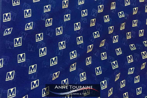 custom scarves and ties by ANNE TOURAINE Custom Scarves and Ties: a unique creation for WASHINGTON DC METRO