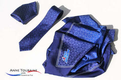 Matching, coordinated or different custom scarves and ties