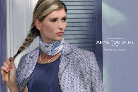 Custom silk scarves by ANNE TOURAINE Paris™ (5)