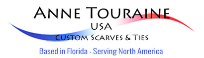 High Quality and Affordable Custom Scarves, Ties, Bow Ties & Pocket Squares by ANNE TOURAINE USA
