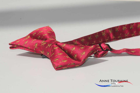 pre-tied-adjustable-bow ties-corporate-anne-touraine-custom-scarves-ties- bow ties