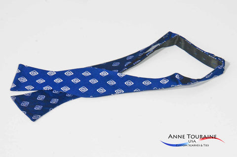 self-tie-bow ties-corporate-anne-touraine-custom-scarves-ties- bow ties