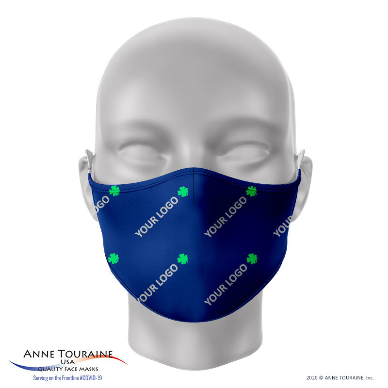 CUSTOM-PRINTED FACE MASKS by ANNE TOURAINE USA