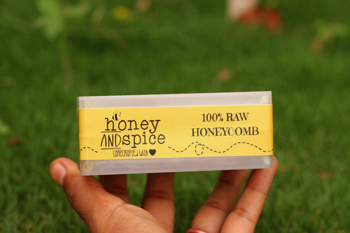 Honey and Spice ™ Natural Honeycomb