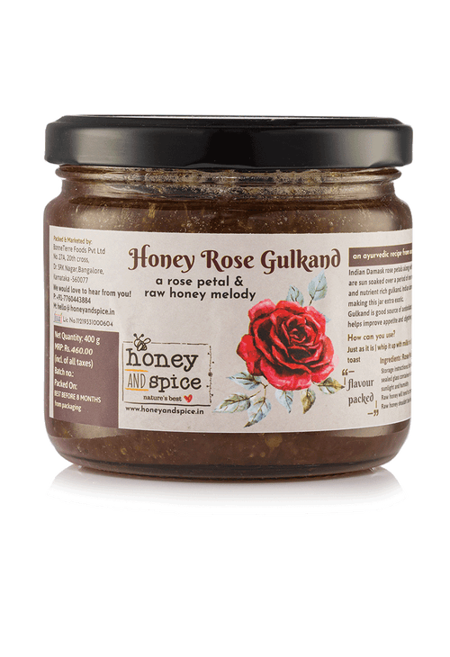 Honey Rose Gulkand 400gm