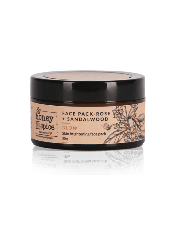 Rose & Sandalwood Face pack 50gm