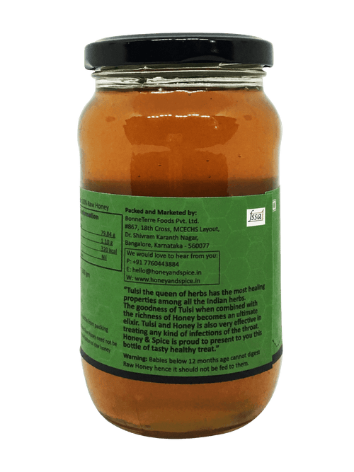 Flavoured Tulsi Honey