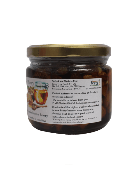 Honey & Spice Nuts in Honey 350gm