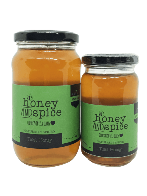 Honey and Spice ™ Tulsi Honey