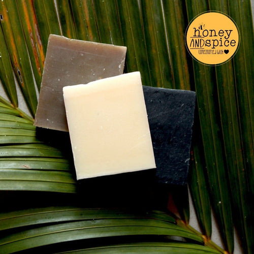 Organic Coconut Oil Soap Bars - pack of 3