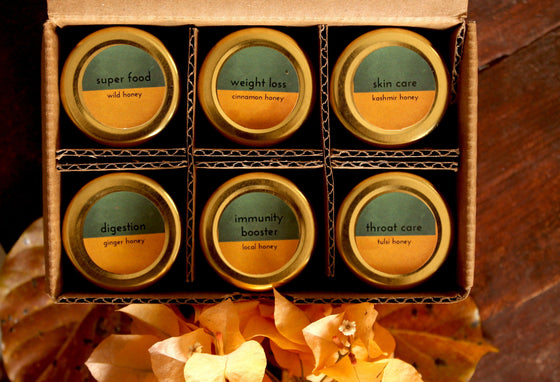 Honey and Spice Sampler Set