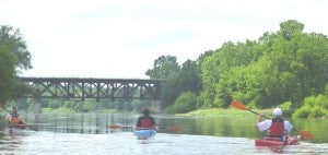 Caledonia to Cayuga Grand River Kayak