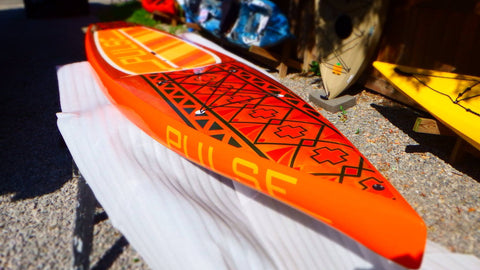 Pulse SUP : Displacement 12-6 Aztec (USED) - Grand River Kayak Dunnville Ontario Canada