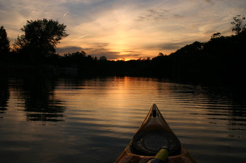 Guided Tour : Sunset Lower Grand River Marshes - Grand River Kayak Dunnville Ontario Canada
