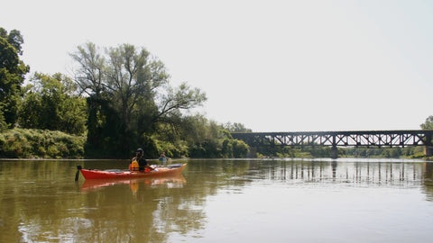 Guided Tour : Caledonia to Cayuga - Grand River Kayak Dunnville Ontario Canada