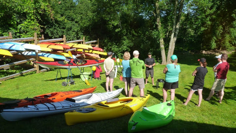 Lesson : Intro to Kayak (On The Road Edition) - Grand River Kayak Dunnville Ontario Canada